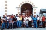 Miembros del Movimiento Juan XXIII en Honduras en el encuentro con fieles del país vecino El Salvador.