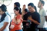Jóvenes de las distintas parroquias de la Arquidiócesis se dieron cita en el Gimnasio del Instituto San José del Carmen para poder renovar sus vidas.