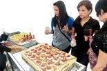 Los quequitos o cup cakes fueron de los stands más populares.