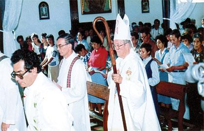 Monseñor Marcelo Gerín.