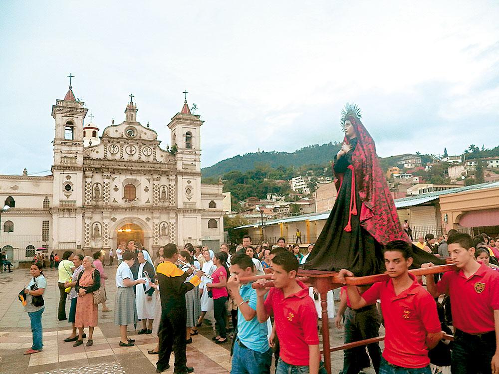 La Iglesia los Dolores, demoru00f3 en construirse casi 80 au00f1os. Su ...