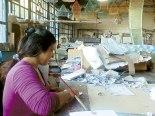 Fábrica de papel reciclable ayudada a mejorar la economía de varias familias de la Aldea.