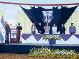 Su Eminencia Cardenal Rodríguez, junto a representantes de grupo INTUR e invitados especiales.