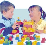 De esta manera los niños desarrollan su imaginación y ponen en práctica sus destrezas.