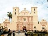 Catedral de Tegucigalpa.