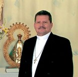 """""""Aquí Estoy Señor"""" es el lema Episcopal, con el cual se identificará Monseñor Héctor David García."""