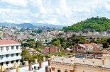 Imagen de la Capital de Honduras, se estima que el 27.6% de la población nacional se encuentra en las dos ciudades gemelas Tegucigalpa y Comayagüela.