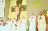 Monseñor Bayron Chevannes, dijo estar muy contento, por compartir este día de las misiones, con una comunidad que está en permanente misión.