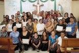Clausura de taller para Agentes de Pastoral de la Salud.
