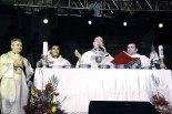 La eucaristía fue presidida por el cardenal Rodríguez y concelebrada por varios presbíteros.