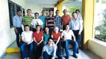 Seminaristas de la Diócesis de San Pedro Sula.