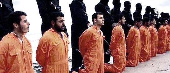"""La iglesia copta declaró que confiaba en que El Cairo no dejaría sin castigo a los autores de """"ese crimen abominable""""."""