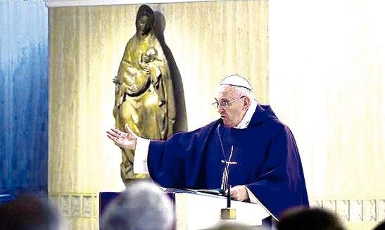 Francisco en Santa Marta.