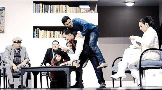 Obra teatral TOC TOC, escrita por Laurent Baffie.
