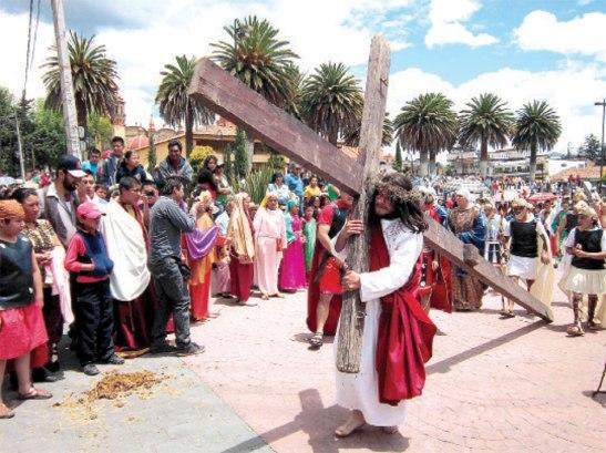 Vivamos esta Semana Santa en gracia con Dios.