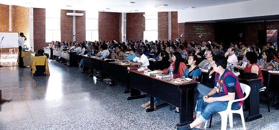En este retiro participaron catequistas de  la mayoría de parroquias que comprende la Arquidiócesis de Tegucigalpa.