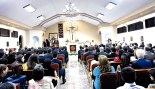 En esta parroquia se oficia la Eucaristía los sábados a las 5 de la tarde y el día domingo en dos horarios 11 de la mañana y 5 de tarde, y de lunes a viernes a las 6:30 de la tarde.