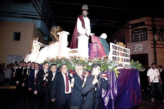 Procesión del silencio de la Catedral Metropolitana.