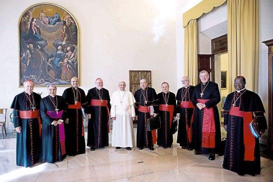 Tenemos ese acceso tan fraterno y tan bonito con el Santo Padre.