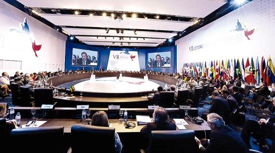 La VII Cumbre de las Américas se llevó a cabo en Panamá.