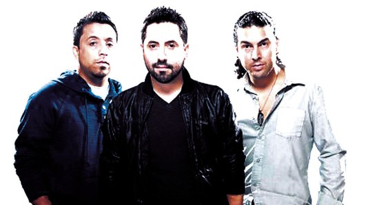 Grupo musical Son By Four.