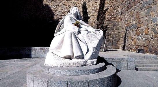 Imagen de Santa Teresa de Jesús en Avila (España).