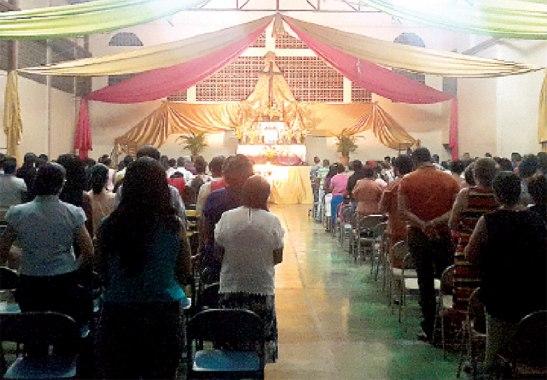 Los cursillistas han hecho presente a esta hermosa noche que les impulza a vivir como misioneros del amor.