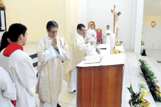 La Eucaristía fue presidida por el padre Martín Pastrana.