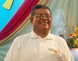 El padre Juan Barrera Herrera siempre lució muy jovial.