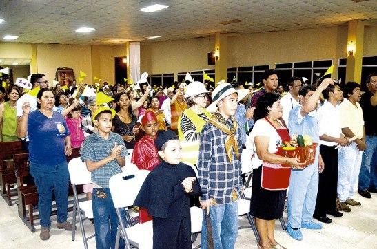 Se pudo observar que varias personas representaron los oficios y trabajos, que sirven para llevar el sustento a sus hogares.