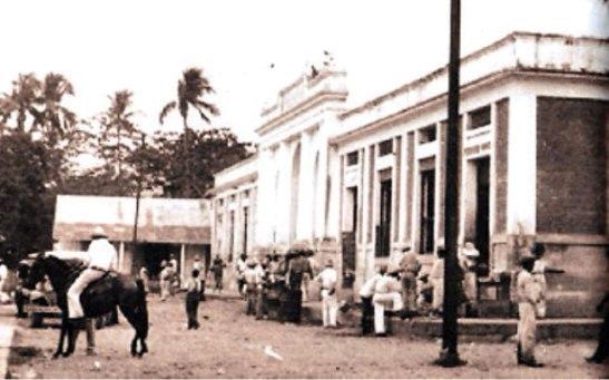 Una gráfica del Mercado Municipal tomada en 1930.