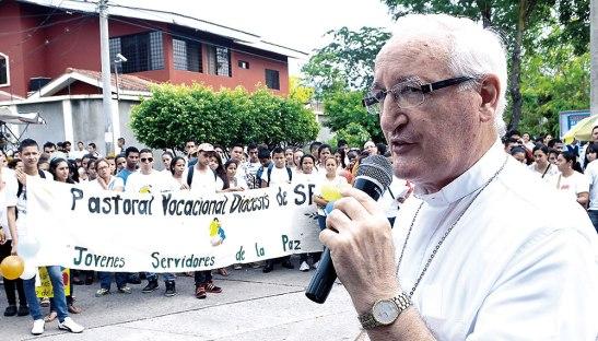 Monseñor Ángel Garachana acompañará a los jóvenes y les impartirá una charla en la caminata.