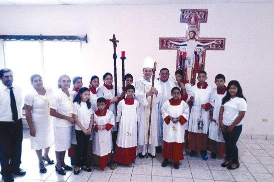 Grupo de Liturgia de la Parroquia San Juan Bautista.