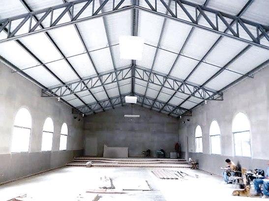La Fundación Chito y Nena Kafie, colaboró en la construcción de la Iglesia Nuestra Señora de la Candelaria.