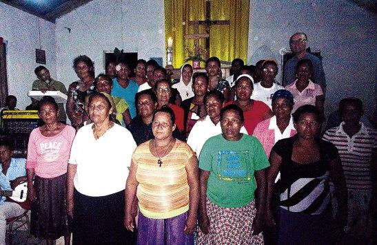 Muchos de ellos llegaron a pie desde zonas lejanas de la Mosquitia hondureña.