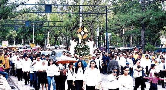 Las calles de Comayagüela se llenaron de fervor.