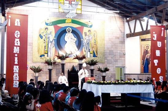 En la Dimensión Pascual, tenemos que buscar que nuestras liturgias no sólo queden en la parte espiritual, sino que tengan un compromiso en toda su vida cristiana.