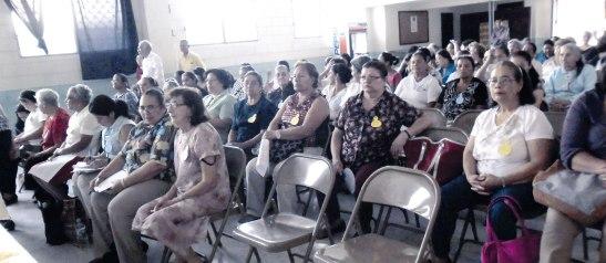 Más de 120 personas asistieron a este encuentro, mismo que sirvió para enriquecer su vida espiritual.