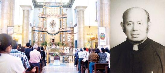 Al padre Francisco Pereira lo acompañaron a su último adiós, varios sacerdotes y fieles.