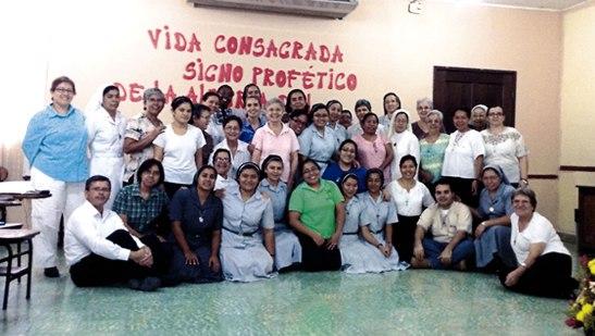 Conferencia de religiosas y religiosos en San Pedro Sula.