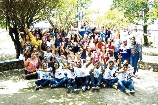En el proceso de formación participaron 45 jóvenes, quienes harán florecer la semilla de la conversión.