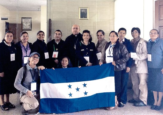 Toda la delegación de CONFEREH y alguno que otro hondureño en misión en otros países.