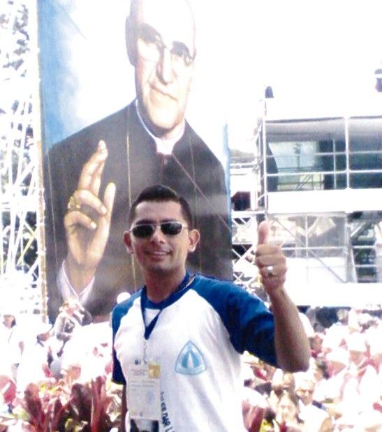 Heber Exequiel Solórzano Reyes, seminarista.