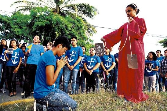 Este Encuentro Juvenil Mariano estuvo dedicado a Nuestra Señora del Monte Carmelo.