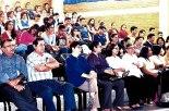 Estudiantes y personal de la unicah,  participaron del Pre-congreso de Teología.