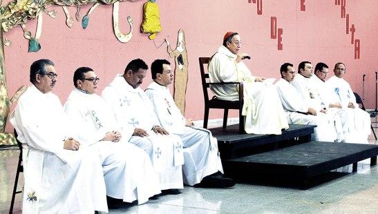 La Asamblea Sinodal  comenzó  con la Celebración Eucarística.