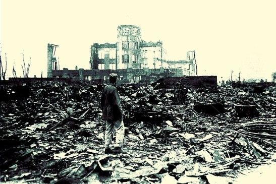 Así quedó Nagasaki tras el bombardeo.