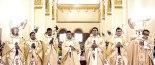 Los siete nuevos sacerdotes diocesanos hondureños recibidos por toda la Diócesis de San Pedro Sula.