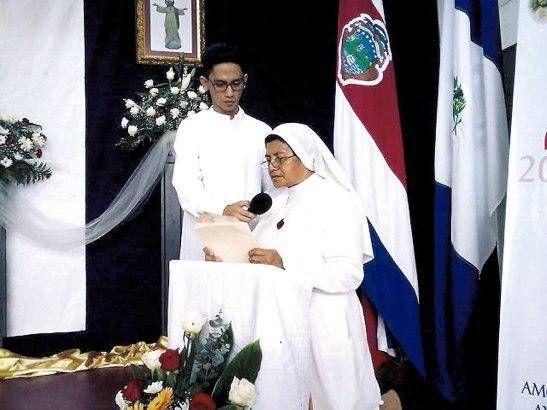 25 aniversario de la hermana Anselma Tercero.