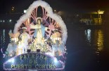 La góndola más esperada, dedicada a la Virgen de la Asunción.